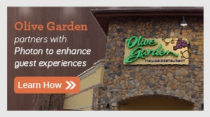 Olive Garden partners with Photon to enhance guest experiences