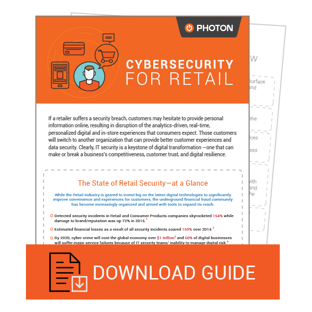 Retail whitepaper on Cybersecurity by Photon
