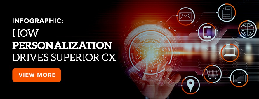 Infographic: How Personalization drives superior CX